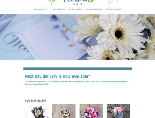 Florist E-Commerce Website Design – Florina Florist