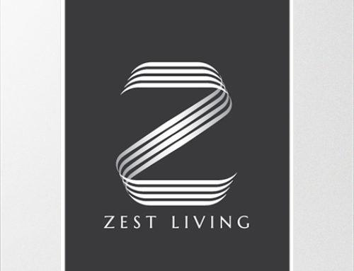 Zest Living Concept Logo Design
