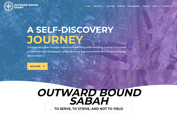Outward Bound Sabah Website